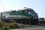 Trainspotting GO train -918 headed by MPI MP40PH-3C -609 (8123457006).jpg