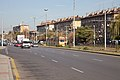 Tram in Sofia in front of Central Railway Station 2012 PD 096.jpg