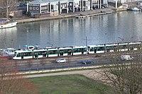 Tramway Ligne 2 vu depuis Parc St Cloud 7.jpg