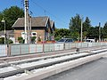 Travaux de la branche vers Vieux-Condé de la ligne B du tramway de Valenciennes en mai 2012 (088).JPG