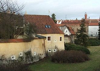 Třeboň - Fortification near the Svět pond