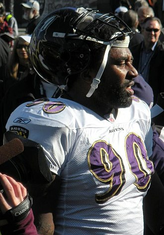 Trevor Pryce - Pryce with the Ravens in January 2010.