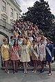 Tricia Nixon and the 1970 Cherry Blossom Queen Contestants.jpg