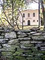 Trinity Church, Brooklyn, CT with historic wall, 2004.jpg
