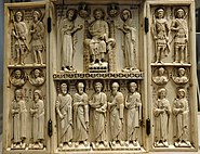 Triptych Harbaville Louvre OA3247 recto