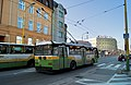 Trolley bus decorated for christmas (8400469706).jpg