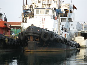 Tugboat moored in the Keating Channel, 2012 07 06 -w.jpg