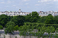 Tuileries Garden from the Musée d'Orsay, Paris 13 June 2015.jpg