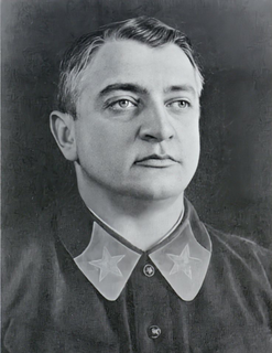 Mikhail Tukhachevsky Marshal of the Soviet Union