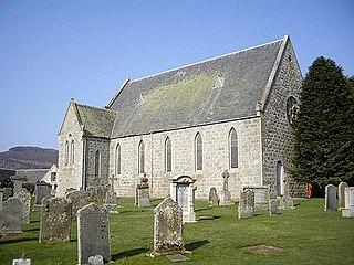 Tullynessle village in Aberdeenshire, Scotland, UK