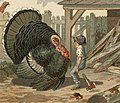 Turkey versus boy with ax detail from Arguing the Point by Boston Public Library (cropped).jpg