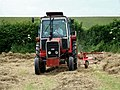 Turning the hay at Glebe Farm near Spilsby - geograph.org.uk - 473074.jpg