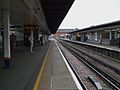 Twickenham station eastbound Kingston Loop look east.JPG