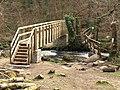 Two bridges across the Bovey - geograph.org.uk - 742665.jpg