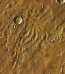 Tyrrhenus Labyrinthus (THEMIS Day IR with MOLA Color).png