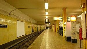 Berlin-Neukölln station - U-Bahn station Neukölln