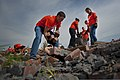 U.S. Airmen based at Sheppard Air Force Base, Texas, clean up debris June 8, 2013, in Moore, Okla 130608-F-ZB240-272.jpg