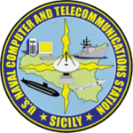 U.S. Naval Computer and Telecommunications Station Sicily insignia, 2018.png