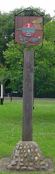 UK Holme (Cambridgeshire) (Sign2).jpg