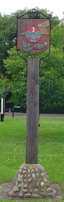 UK Holme (Cambridgeshire) (Sign2).jpg