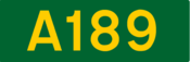 A189 road shield