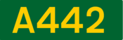 A442 road shield