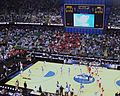 UNC vs. Radford warmups (3369504110).jpg