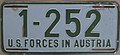 US-Forces-in-Austria USFA 1953 license plate 1-252.jpg
