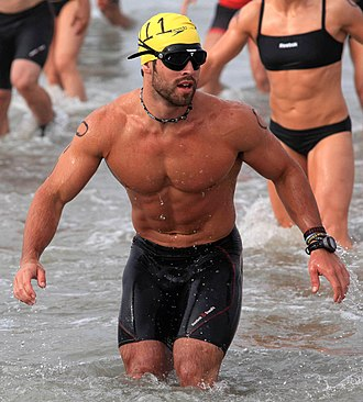 "Physical fitness - Physical fitness is generally achieved through exercise. Photo shows Rich Froning Jr. – four-time winner of ""Fittest Man on Earth"" title."