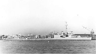 Convoy ON 67 - USS Bernadou