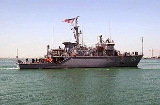 USS Cardinal (MHC-60) - USS Cardinal in the Persian Gulf, 2003