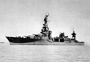 USS Chester (CA-27) - Image: USS Chester (CA 27) Aug 1942