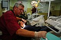 USS Kearsarge personnel administer routine physicals, dental services during Continuing Promise 2008 DVIDS120494.jpg