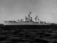 USS Mitscher (DL-2) c1953