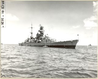 German cruiser <i>Prinz Eugen</i> Admiral Hipper-class cruiser