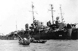 USS <i>Tomich</i> (DE-242)