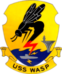 USS Wasp (CVS-18) insignia, in 1958.png