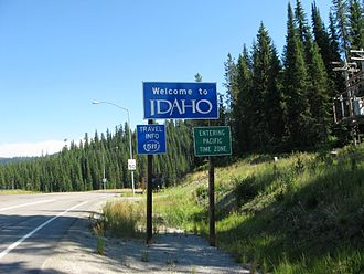 U.S. Route 12 in Idaho - Image: US 12 Idaho entry