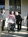 US Navy 021104-N-0000X-031 Retired Chief Musician Elmer Melby celebrates his 100th birthday.jpg