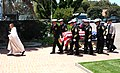 US Navy 050709-N-0050T-013 Senior Chief Petty Officer (SEAL), Daniel R. Healy is carried into a funeral service at St. Charles Borromeo Catholic Church, San Diego.jpg