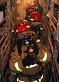 US Navy 081128-N-6764G-129 Repair locker Sailors inspect spaces during a general quarters drill aboard the amphibious transport dock ship USS San Antonio (LPD 17).jpg