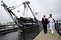 US Navy 090911-N-5549O-243 Secretary of the Navy (SECNAV) the Honorable Ray Mabus tours the USS Constitution.jpg