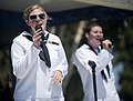 US Navy 110827-N-PB383-570 Sailors assigned to U.S. Navy Band Southwest's contemporary entertainment ensemble, The Destroyers,.jpg