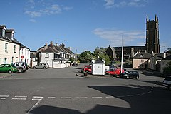 Ugborough square and St Peters church -Devon-26June2008.jpg