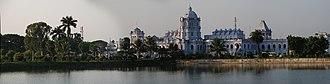 Ujjayanta Palace - A panoramic view of the palace during 2007