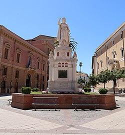 Ulisse cambi, monumento a eleonora d'arborea 01.jpg