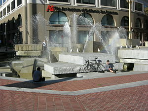 Lawrence Halprin - United Nations Plaza, Civic Center, San Francisco