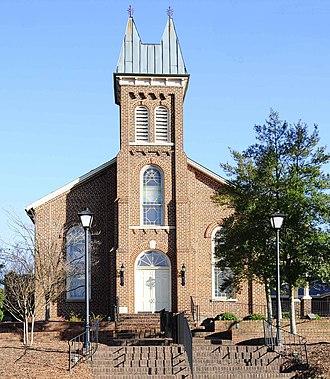 Unity Presbyterian Church Complex - Image: Unity Presbyterian Church Complex