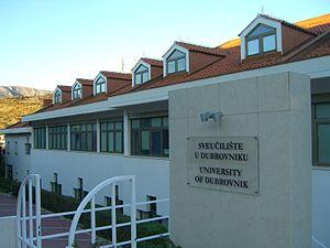 University of Dubrovnik - Image: University of Dubrovnik CIMG9517