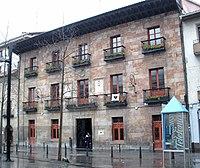 Urretxu - Plaza Iparraguirre, Palacio Ipañarrieta-Corral (Ayuntamiento) 1.jpg